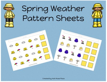 Spring Weather Pattern Mats