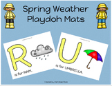 Spring Weather Playdoh Mats