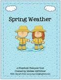 Spring Weather Preschool Unit