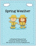 Spring Weather Preschool Unit
