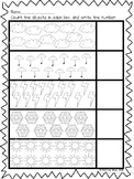 Spring Weather counting worksheet