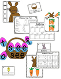 Easter/Spring Math and Literacy Centers Bundle