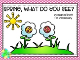 Spring, What Do You See? Matching and Sentence Completion