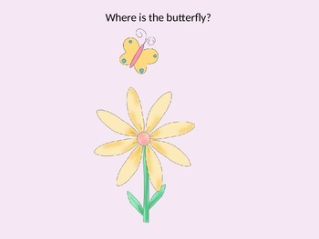 Spring - Where is Butterfly - Prepositions