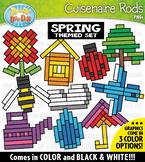 Spring Wooden Block Rods Clipart {Zip-A-Dee-Doo-Dah Designs}