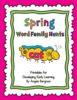 Spring Word Family Hunts