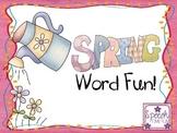 Spring Word Fun