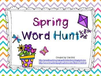 Spring Word Hunt