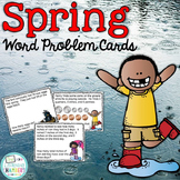 Spring Word Problem Cards