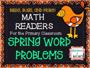 Spring Word Problem MATH READERS