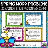 Second Grade Word Problems:  Spring Set