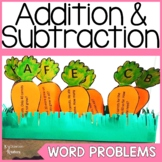 #springbackin Spring Addition and Subtraction Word Problems