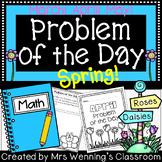 Spring Word Problems & Math Interactive Notebook Activities Bundle!
