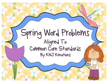 Spring Word Problems (Solving & Writing)