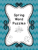 Spring Word Puzzles