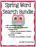 Spring Word Search Activity Packet