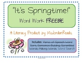Spring Word Search {FREE}