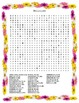 Spring Word Search- Harder 30 Words