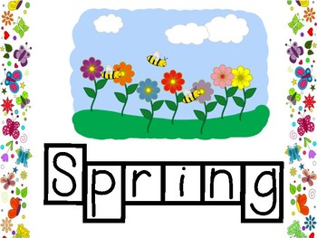 Spring Word Tracers