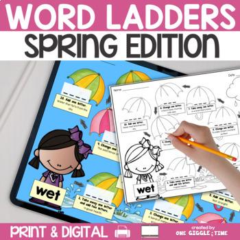 Spring Word Walk Pack