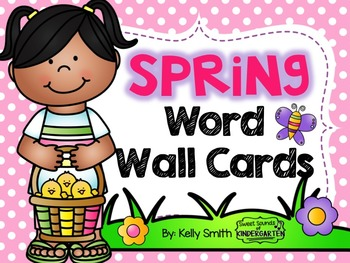 Spring Word Wall Cards!