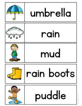 Spring Word Wall Words {FREE}