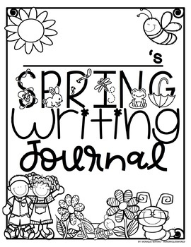Spring Word Wall/Writing with REAL photos