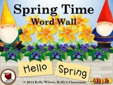 Spring Vocabulary Word Wall