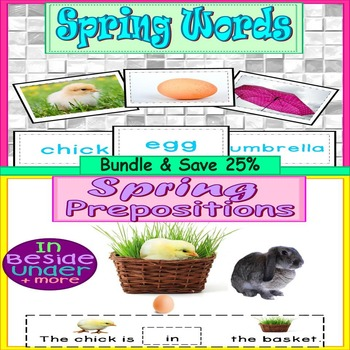 Spring Word Work Bundle