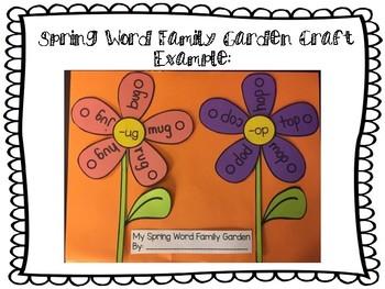 Spring Word Work Pack