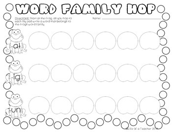 Spring Word Work {Print & Go}