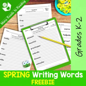 Spring Words: Grades K-2