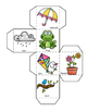 Spring Activities, Learning Cube With Graphing Activities