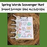 Spring Words Scavenger Hunt