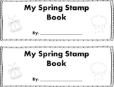 Spring Words Stamp Book