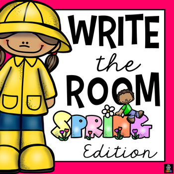 Spring Words - Write the Room