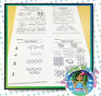 Spring Worksheet Bundle