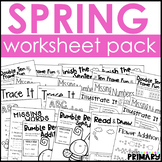 Spring Worksheet Pack
