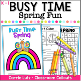 Spring Worksheets {A No-Prep Spring Activity Packet}