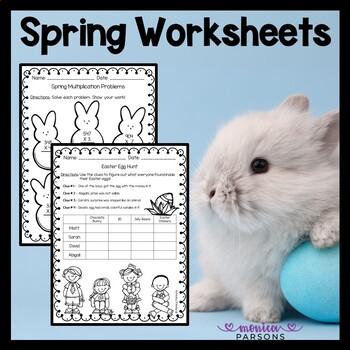 Spring Worksheets Freebie