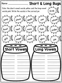 First Grade Math Worksheets and Literacy Worksheets - Spring Packet