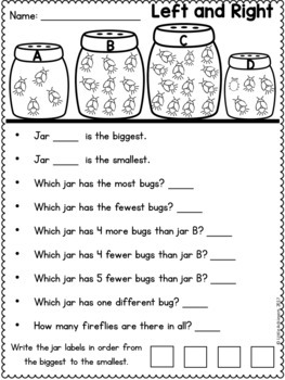Spring Worksheets | Spring Activities First Grade Math and Literacy  Worksheets
