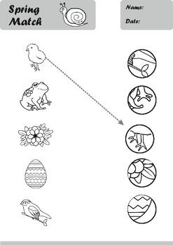 Spring Worksheets Pack