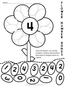 Spring Activities for Kindergarten and Pre-K  - Worksheets