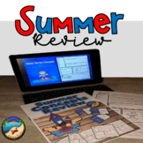 Summer School Activities: First Grade Review