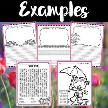 Spring Worksheets and Printables