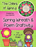 Spring Wreath Craftivity & Poetry Project