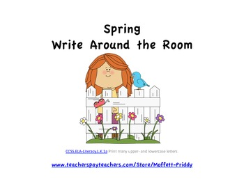 Spring Write Around the Room
