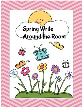Spring Write Around the Room
