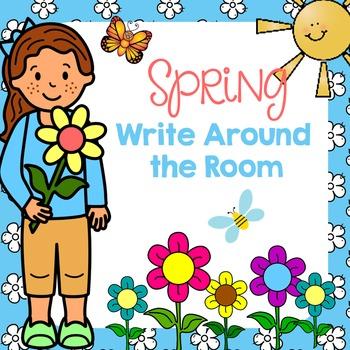 Spring Write Around the Room Pack